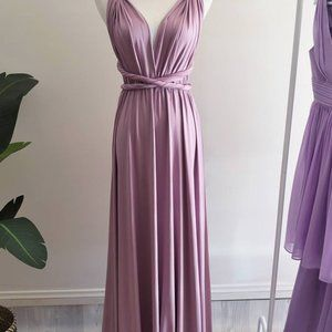 Multiway Bridesmaid Dress Lavender